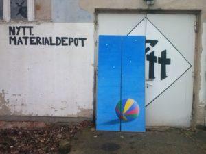 Stellwand-Ball