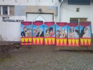 Zirkus-Stellwände